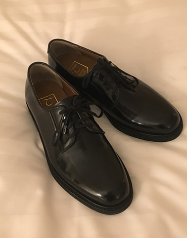 Derby handmade shoes